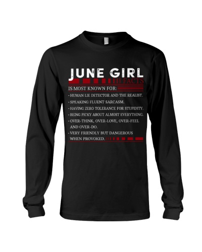 JUNE GIRL FACTS