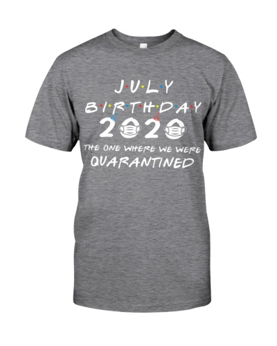 JULY BIRTHDAY 2020 WHERE WE WERE QUARANTINED