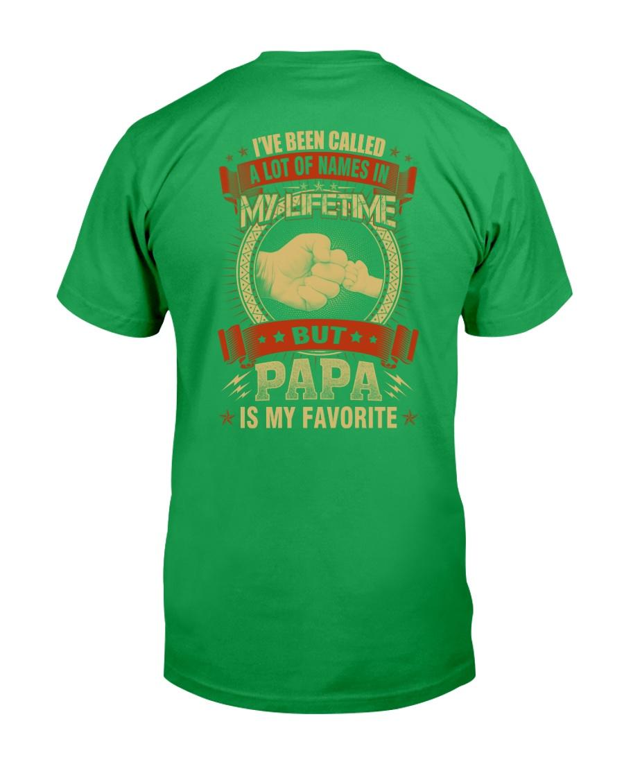 PAPA IS MY FAVORITE Classic T-Shirt showcase