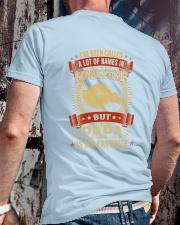 PAPA IS MY FAVORITE Classic T-Shirt lifestyle-mens-crewneck-back-2