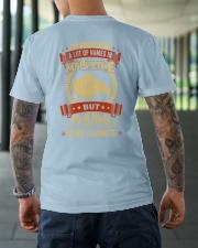 PAPA IS MY FAVORITE Classic T-Shirt lifestyle-mens-crewneck-back-3