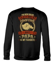 PAPA IS MY FAVORITE Crewneck Sweatshirt thumbnail