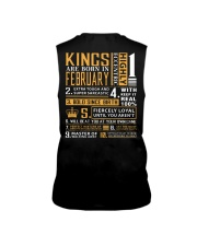 KINGS ARE BORN IN FEBRUARY Sleeveless Tee thumbnail