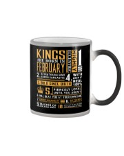 KINGS ARE BORN IN FEBRUARY Color Changing Mug thumbnail