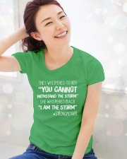 STRONGMOTHER Ladies T-Shirt lifestyle-holiday-womenscrewneck-front-1