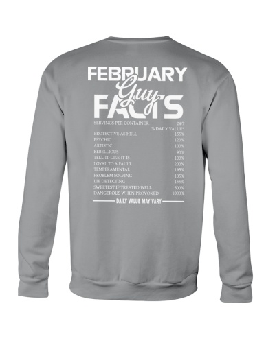 FEBRUARY GUY FACTS