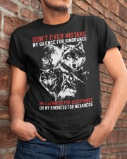 WOLVES - THE MISTAKE Classic T-Shirt apparel-classic-tshirt-lifestyle-26