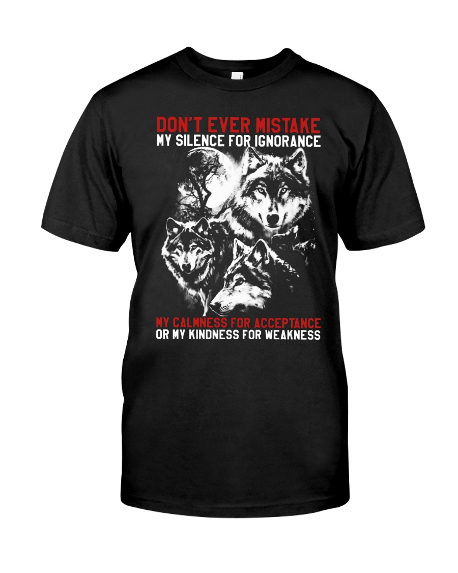 WOLVES - THE MISTAKE Classic T-Shirt