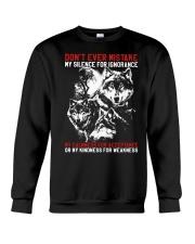 WOLVES - THE MISTAKE Crewneck Sweatshirt thumbnail