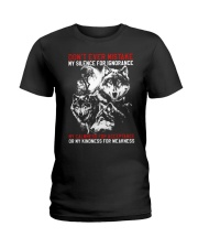 WOLVES - THE MISTAKE Ladies T-Shirt thumbnail