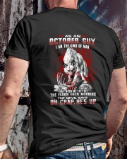 OCTORBER GUY THE KIND OF MAN Classic T-Shirt lifestyle-mens-crewneck-back-2