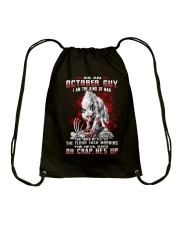 OCTORBER GUY THE KIND OF MAN Drawstring Bag thumbnail