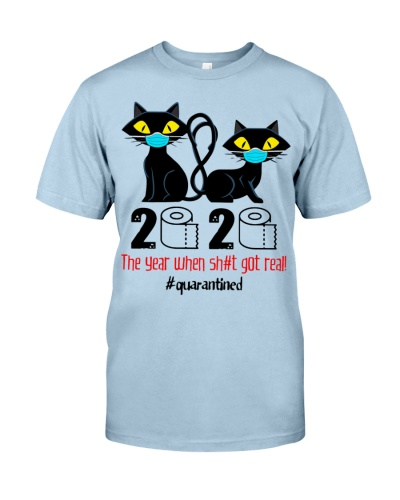 CAT 2020 THE YEAR WHEN SHIT GOT REAL QUARANTINED