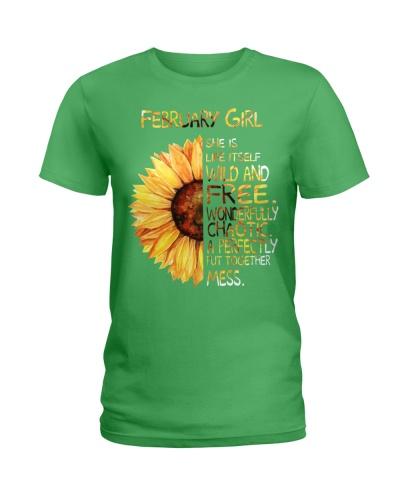 FEBRUARY GIRL - SHE IS LIFE ITSELF