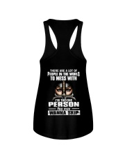 DONT MESS WITH ME - WARRIOR OF CHRIST Ladies Flowy Tank thumbnail