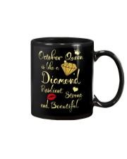 OCTOBER QUEEN IS LIKE A DIAMOND Mug thumbnail