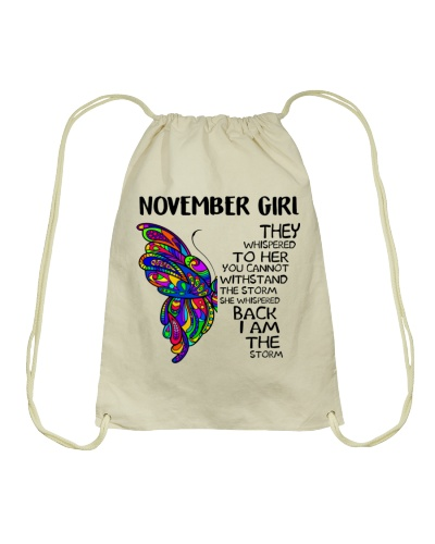 NOVEMBER GIRL - SHE WHISPERED BACK I AM THE STORM