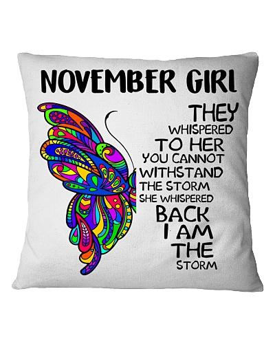 NOVEMBER GIRL - SHE WHISPERED BACK I AM THE STORM