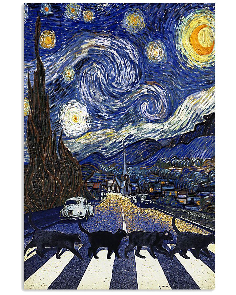 CAT VAN GOGH 16x24 Poster