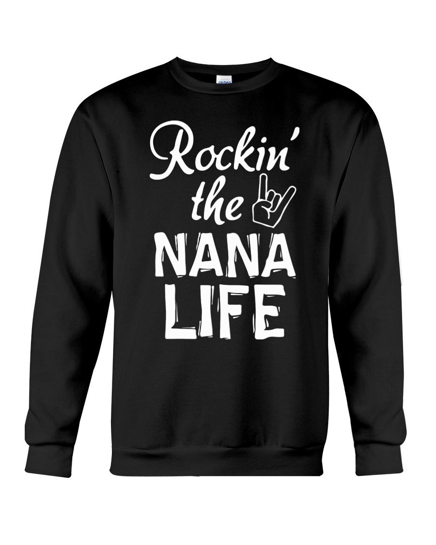 ROCKIN' THE NANA LIFE Crewneck Sweatshirt