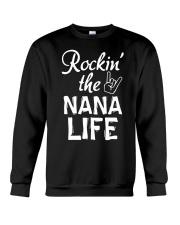 ROCKIN' THE NANA LIFE Crewneck Sweatshirt front