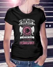 I WAS BORN IN FEBRUARY Ladies T-Shirt lifestyle-women-crewneck-front-7