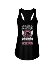 I WAS BORN IN FEBRUARY Ladies Flowy Tank thumbnail