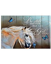 BE STILL AND KNOW THAT I AM GOD - HORSE 24x16 Poster front