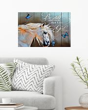 BE STILL AND KNOW THAT I AM GOD - HORSE 24x16 Poster poster-landscape-24x16-lifestyle-01