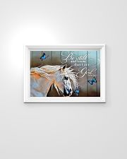 BE STILL AND KNOW THAT I AM GOD - HORSE 24x16 Poster poster-landscape-24x16-lifestyle-02