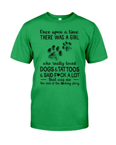 THERE WAS A GIRL WHO REALLY LOVE DOGS AND TATTOOS