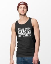 REAL MEN MARRY BITCHES Unisex Tank lifestyle-unisex-tank-front-3
