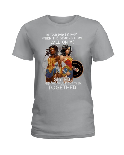 SISTER WE WILL FIGHT THEM - AFRICAN AMERICAN