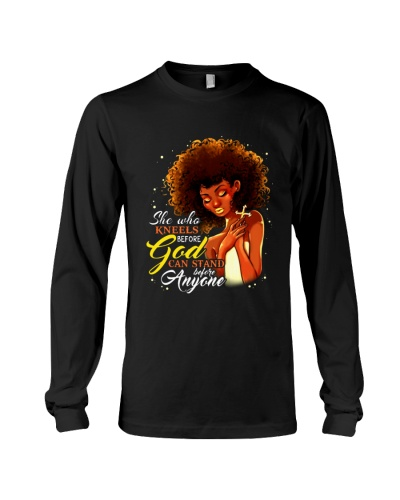 SHE WHO KNEELS BEFORE GOD - AFRICAN AMERICAN