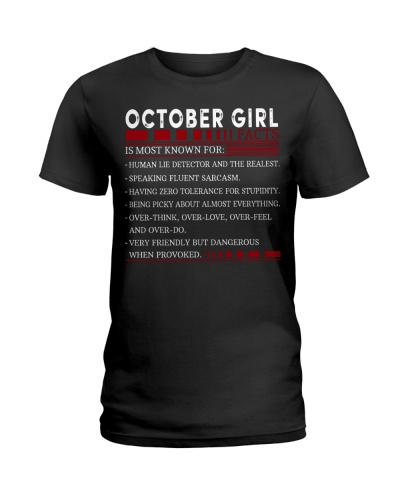 OCTOBER GIRL FACTS