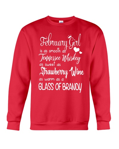 FEBRUARY GIRL - WHISKEY WINE BRANDY
