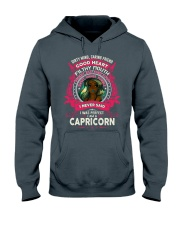 I NEVER SAID I WAS PERFECT - CAPRICORN Hooded Sweatshirt front