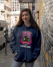 I NEVER SAID I WAS PERFECT - CAPRICORN Hooded Sweatshirt lifestyle-unisex-hoodie-front-1