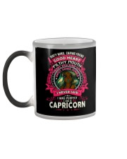 I NEVER SAID I WAS PERFECT - CAPRICORN Color Changing Mug color-changing-left