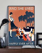 AND SHE LIVED HAPPILY EVER AFTER 16x24 Poster lifestyle-poster-2