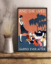 AND SHE LIVED HAPPILY EVER AFTER 16x24 Poster lifestyle-poster-3