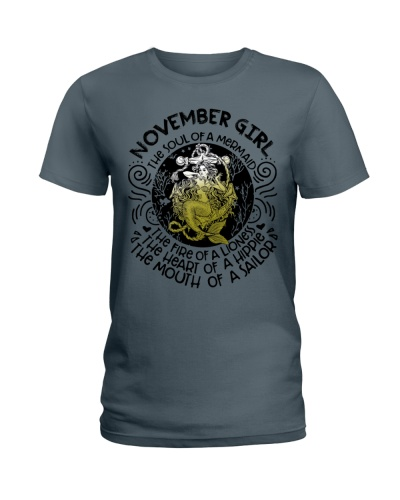 NOVEMBER GIRL - THE SOUL OF A MERMAID