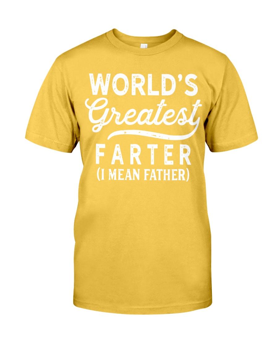 WORLD'S GREATEST FARTER Classic T-Shirt showcase
