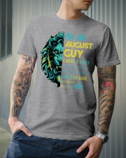 I'M AN AUGUST GUY - I HAVE 3 SIDES Classic T-Shirt lifestyle-mens-crewneck-front-6