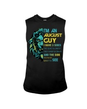 I'M AN AUGUST GUY - I HAVE 3 SIDES Sleeveless Tee thumbnail