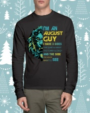 I'M AN AUGUST GUY - I HAVE 3 SIDES Long Sleeve Tee lifestyle-holiday-longsleeves-front-1