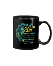 I'M AN AUGUST GUY - I HAVE 3 SIDES Mug thumbnail