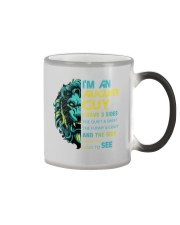 I'M AN AUGUST GUY - I HAVE 3 SIDES Color Changing Mug color-changing-right