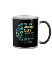 I'M AN AUGUST GUY - I HAVE 3 SIDES Color Changing Mug thumbnail
