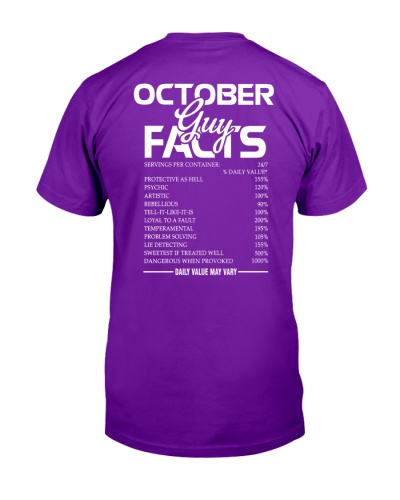 OCTOBER GUY FACTS